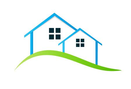 Houses Vector Illustration Illustration