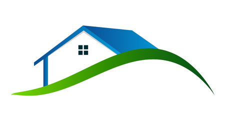 housing problems: Houses Logo Vector Illustration