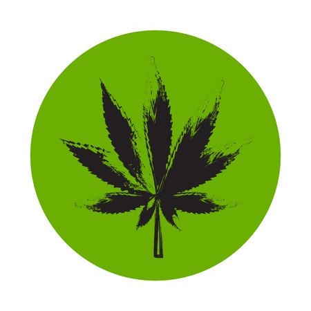 hashish: Abstract Cannabis Background Vector Illustration