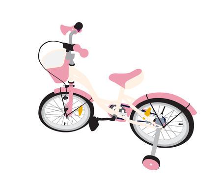 ni�os en bicicleta: Ni�os de bicicletas. Aislado