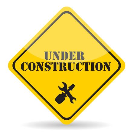 box construction: Under Construction.