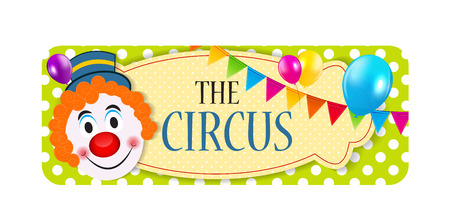 imagery: The Circus Banner Vector Illustration Illustration