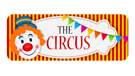 The Circus Banner Vector Illustration Illustration
