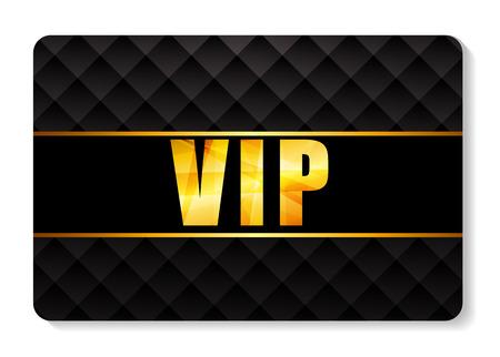VIP Members Card Vector Illustration Vectores
