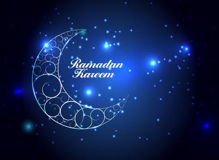 eid mubarak: Background for Muslim Community Festival Vector Illustration Illustration