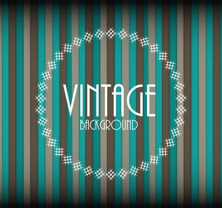 Retro Vintage Background Template Vector Illustration EPS10 Illustration