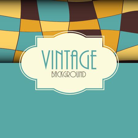 scrapbook frame: Retro Vintage Background Template Vector Illustration EPS10 Illustration
