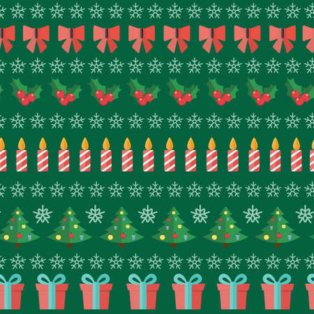 marry christmas: Happy New Year and Marry Christmas Seamless Pattern Background EPS10