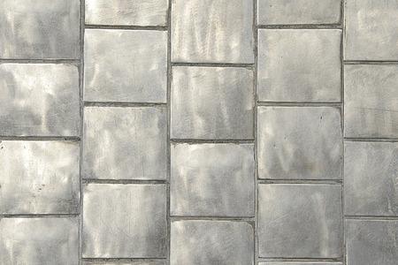 tiled floor: Background Gray Tiled Floor.
