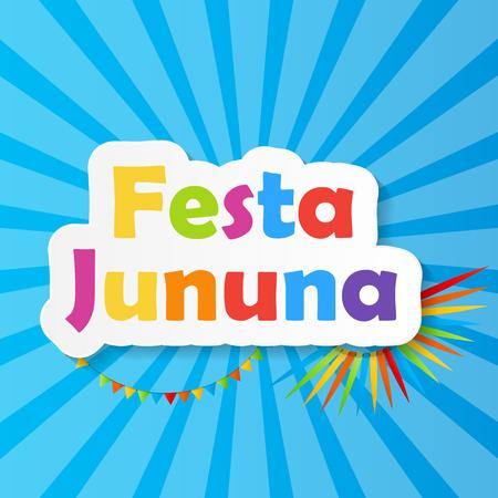 hillbilly: Festa Jinina Background Vector Illustration EPS10