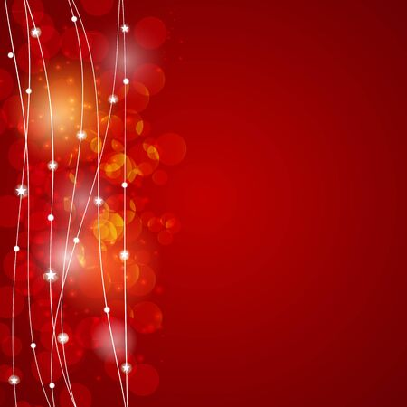 newyear card: Abstract Christmas and New Year Background. Vector Illustration