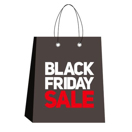 miserly: Black Friday Sale Label Vector Illustration