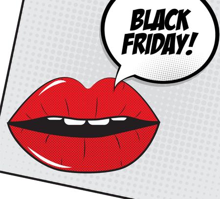 miserly: Black Friday Sale Vector Illustration
