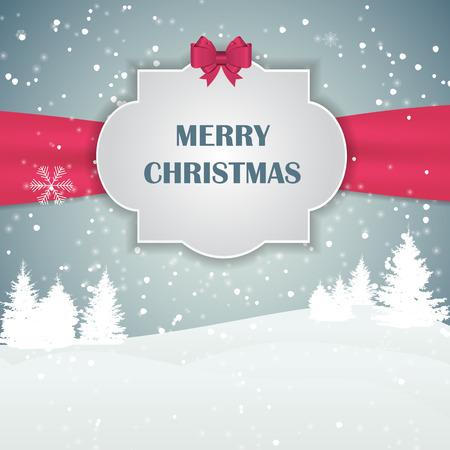 snowflake snow: Christmas Snowflakes Background Vector Illustration Illustration