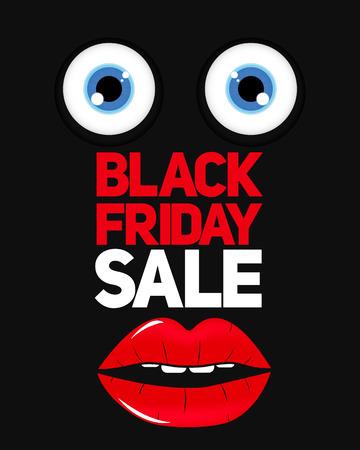 miserly: Black Friday Sale Background Vector Illustration EPS10
