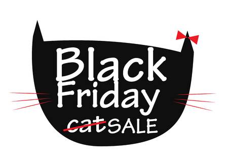 miserly: Black Friday Sale Background Vector Illustration   Illustration
