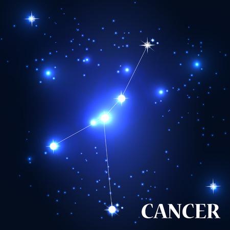cancer zodiac: Symbol. Cancer Zodiac Sign.