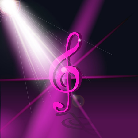 hi fi: Abstract Music Background. Vector Illustration for your Design. EPS10