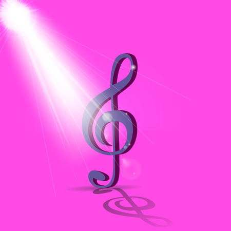 Abstract Music Background. Vector Illustration for your Design. EPS10