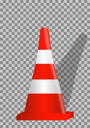 guardrails: Road signs. Orange Badge guardrails on transparent background. Vector Illustration. EPS10 Illustration