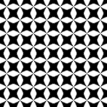 hypnotize: Black and White Hypnotic Fascinating Abstract Image.