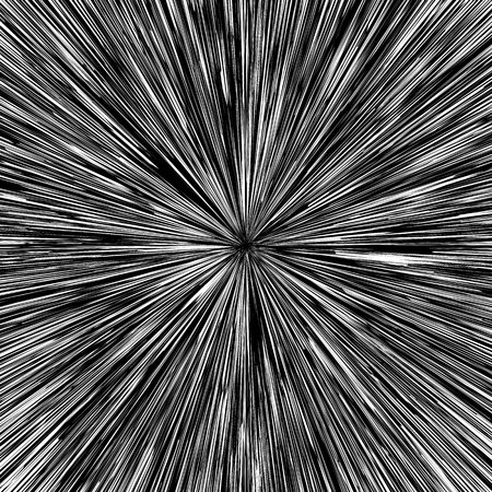 hypnotherapy: Black and White Hypnotic Fascinating Abstract Image.