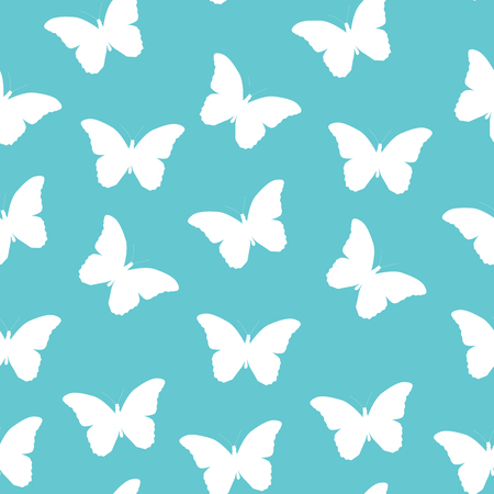 lightweight ornaments: Butterfly Seamless Simple Pattern Background