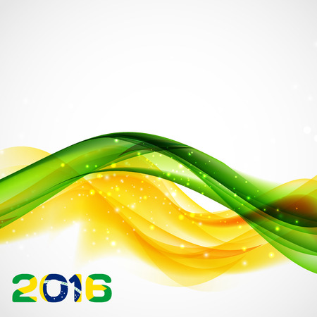 janeiro: Rio. Brazil 2016. Olympic Summer Games. Abstract Colorful Background. Vector Illustration. EPS10
