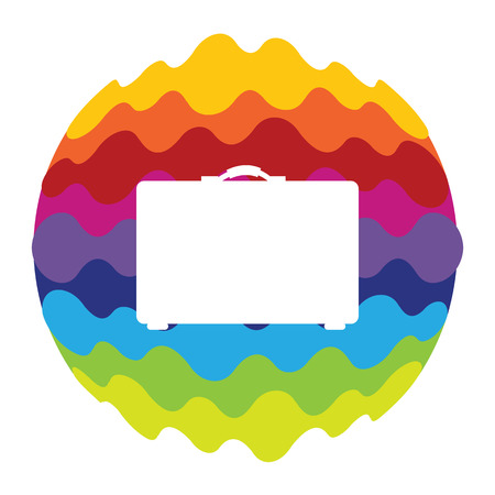 Bag Rainbow Color Icon for Mobile Applications and Web