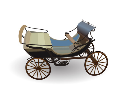 wooden horse: Old Wagon for the Horses.