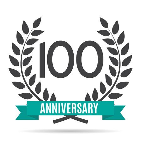 10 years: Template  10 Years Anniversary Vector Illustration Illustration