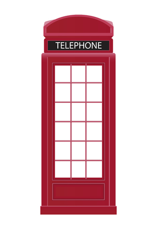 red telephone box: Red Telephone Box Icon