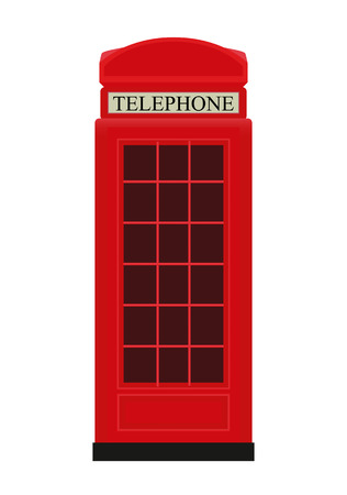 telephone box: Red Telephone Box Icon