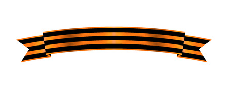 Two-color Ribbon Order of St. George. For service and bravery