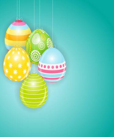 Happy Easter Spring Holiday   Illustration Illustration