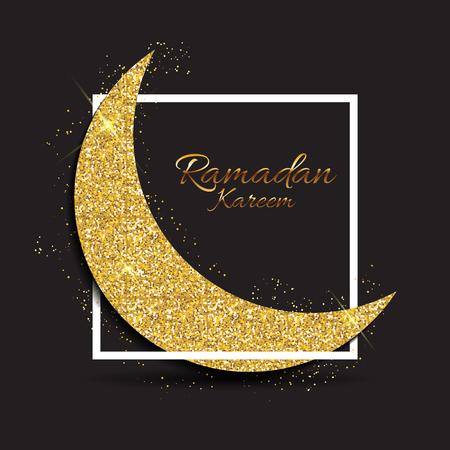 Background for Muslim Community Festival Ramadan Kareem.  Eid Mu