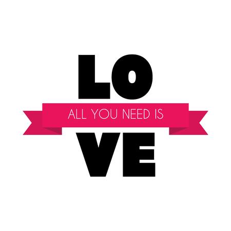 Valentines Day Heart  Love and Feelings Background Design. Vector illustration EPS10 Ilustração