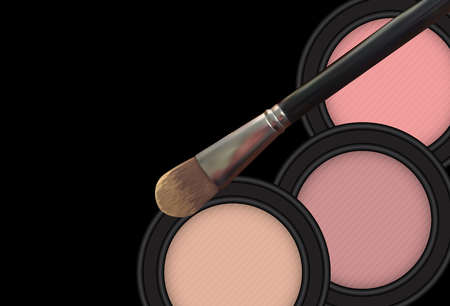 Design Cosmetics Product Template for Ads or Magazine Background. 3D Realistic Vector illustration.