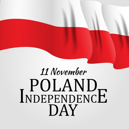 11 november, Poland Independence Day Patriotic Symbolic background Vector illustration