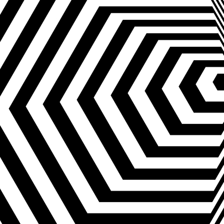 Hypnotic Fascinating Abstract Image.Vector Illustration. Illustration