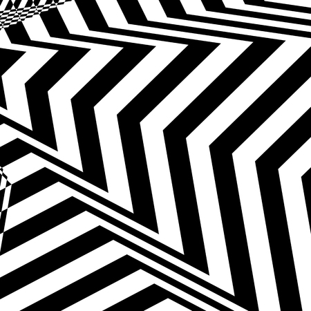 Hypnotic Fascinating Abstract Image.Vector Illustration. EPS10
