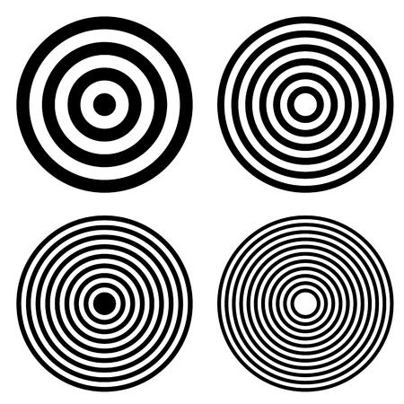 Hypnotic Fascinating Abstract Image.Vector Illustration. Illustration