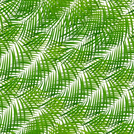 Palm Leaf Vector Background Illustration EPS10 Vektorgrafik