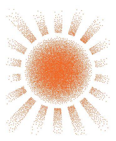 Natural Sunny Background Vector Illustration EPS10