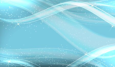 Abstract Wave Background. Vector Illustration EPS10