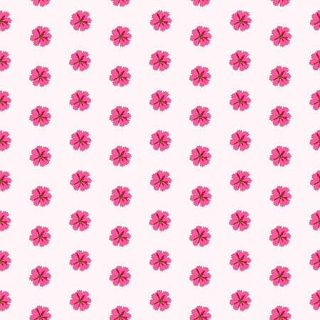 Abstract Hand Drawn flower seamless pattern background. Vector Illustration EPS10