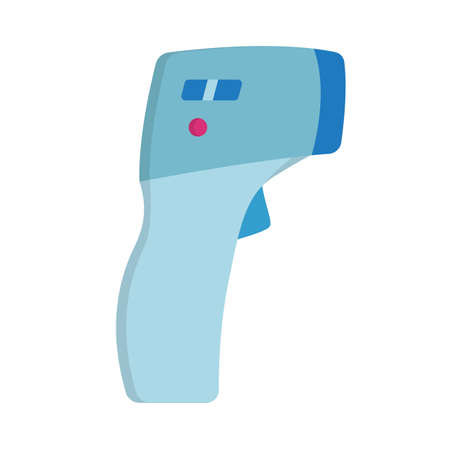 Medical Thermometer Simple Icon.