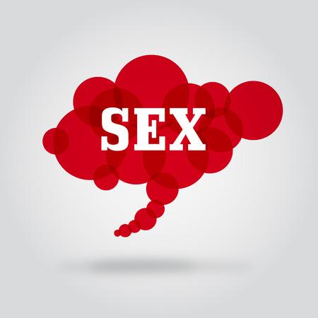 クラウド セックス  イラスト・ベクター素材