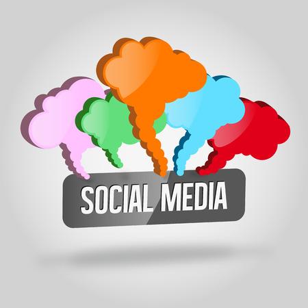 Social media Stock Vector - 27393399