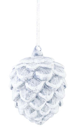 Christmas decoration on an isolated white background